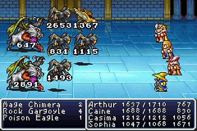 JeffLudwig com | Final Fantasy 1 and 2- Dawn of Souls (GBA